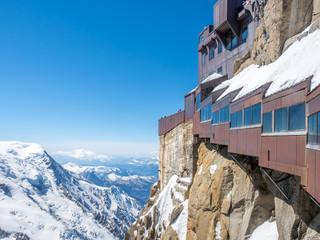 Photo sur Aluminium Népal Mont Blanc mountain peak in Chamonix, France