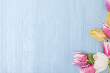 Spring Flower Background for Easter, Mother's Day and Love