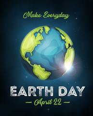 Earth Day Celebration Poster