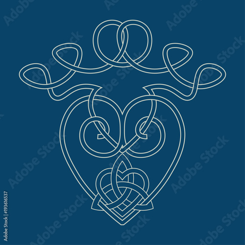 Vector Illustration For Scottish Community The Luckenbooth Brooch