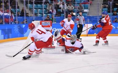 Olympics: Ice Hockey-Men Team Semifinal - CZE-OAR