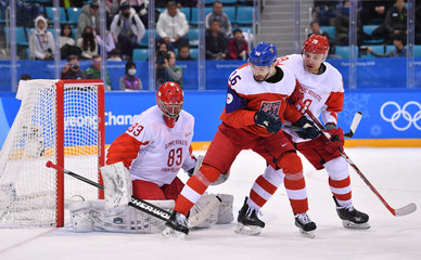 Olympics: Ice Hockey-Men Team Semifinal - CZE-OAR