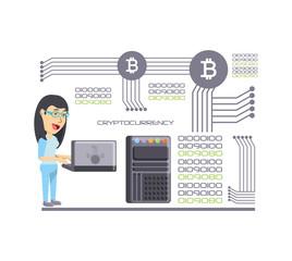 mining cryptocoins design