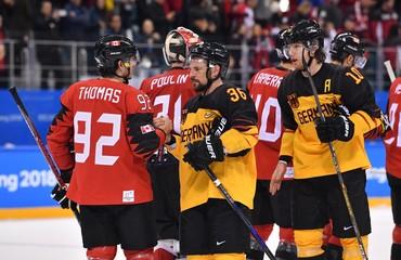 Olympics: Ice Hockey-Men Team Semifinal - CAN-GER
