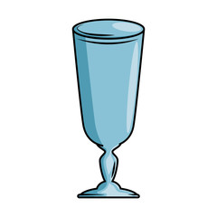cup glass isolated icon vector illustration design