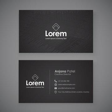 Creative business card mock-up