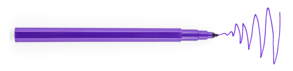 Violet Felt Pen