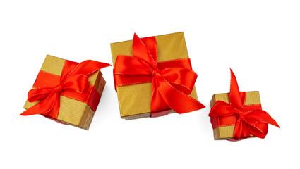 Christmas Gift Box Top View 3