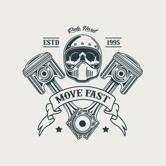 Motorcycle Club Illustration