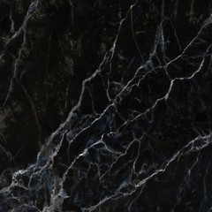 Patterned of black and white marble texture background