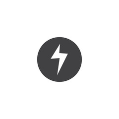 electric icon. sign design