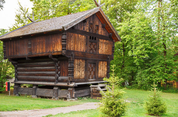 Traditional old house in Oslo