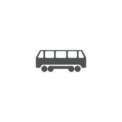 bus icon. sign design