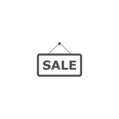 sale icon. sign design