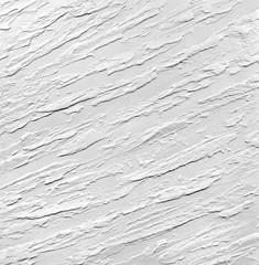 Белые мазки на белой стене - декоративное покрытие для помещений. Дизайн интерьера