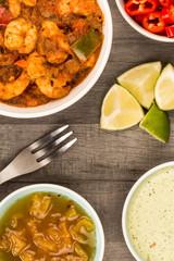 Spicy King Prawn Bhuna Curry