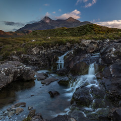 The Cuillins from Sligachan