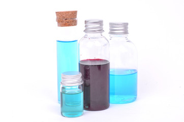 Chemical testing in the laboratory