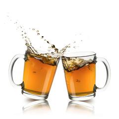 Fototapete - cups of tea