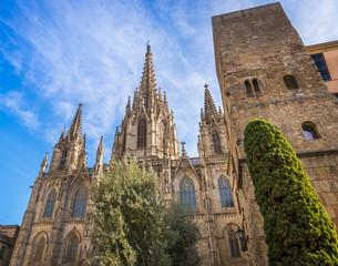 Cathédrale Sainte-Croix de Barcelone, Catalogne en Espagne