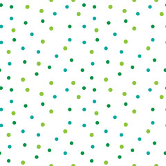 Abstract background with color circles. Seamless pattern