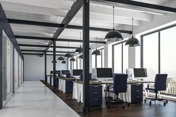 Aluminium Prints Airport Contemporary coworking office