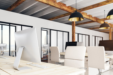 Stylish coworking office