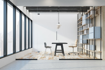 Bright office with NY view