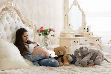 Pregnant girl thinks her child