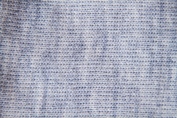 knitted grey wool fabric