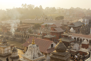 Pashupatinath temple in Nepal