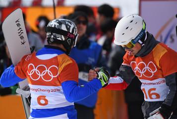 Olympics: Snowboard