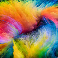 Propagation of Digital Paint