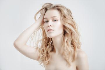 haircare cosmetics concept