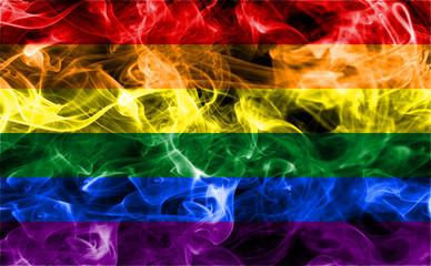 Gay smoke flag, The rainbow flag