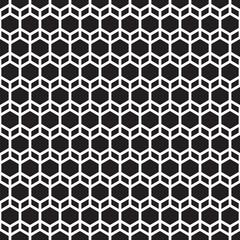 Seamless vintage geometric lattice trellis tracery pattern
