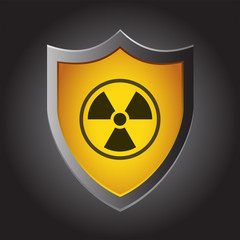 Shield Icon - Radioactive