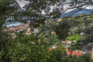 Attractions and architecture of the French city of Menton