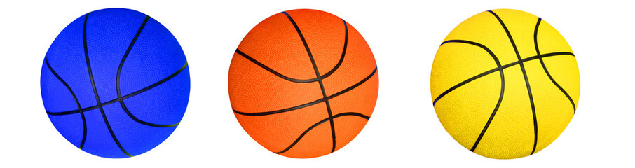 Basketball , isolated on white background.