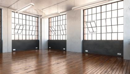 Industrial Office Area (empty)