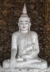 Buddha statue at Wat Ban Den Chiang Mai Thailand