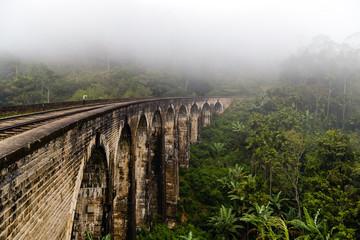 bridge railways in the mountains, Ella, Sri Lanka