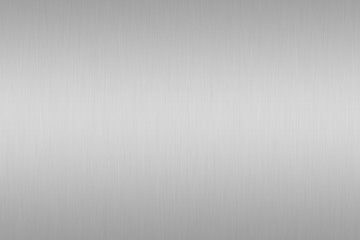 silver brushed metal or gray steel texture background