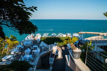 Deurstickers Canarische Eilanden Numana, Ancona, Marche, Italia