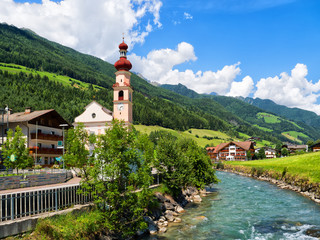 St. Johann im Ahrntal, Südtirol, Zillertaler Alpen