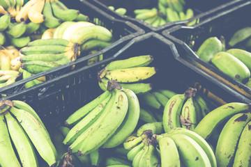 Bananas on the market .Farmer's Market.