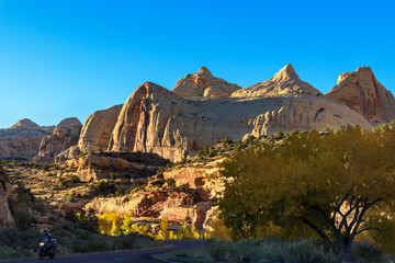 Capitol Reef Fall Colors and Red Rock Canyons, Escalante, USA