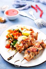 kebab from tuna