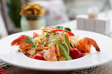 Prawn appetizer, light summer dish