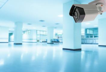 CCTV camera inside hospital